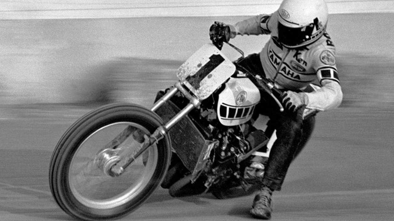 1975 Yamaha TZ750 flat tracker
