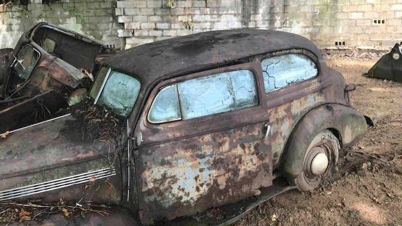 Unearthed Pre-War Classic Cars