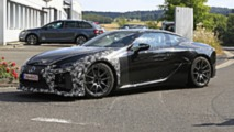 Lexus LC F spy photo