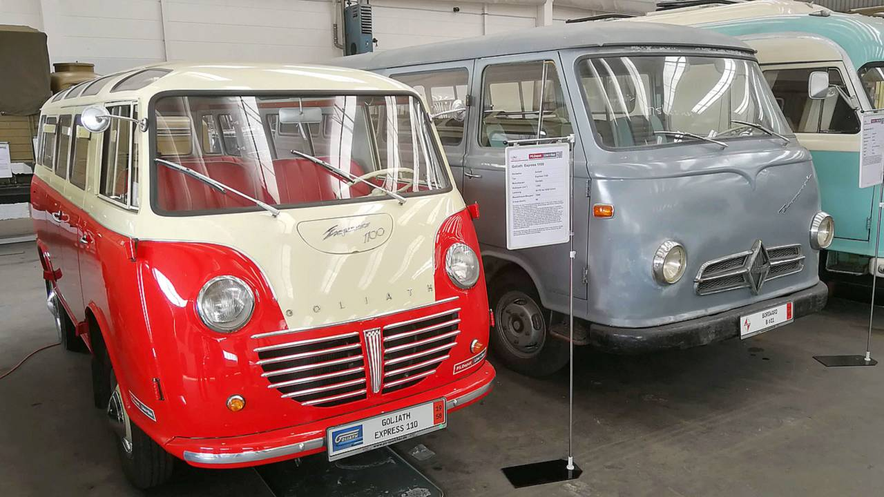Borgward commercial vehicles