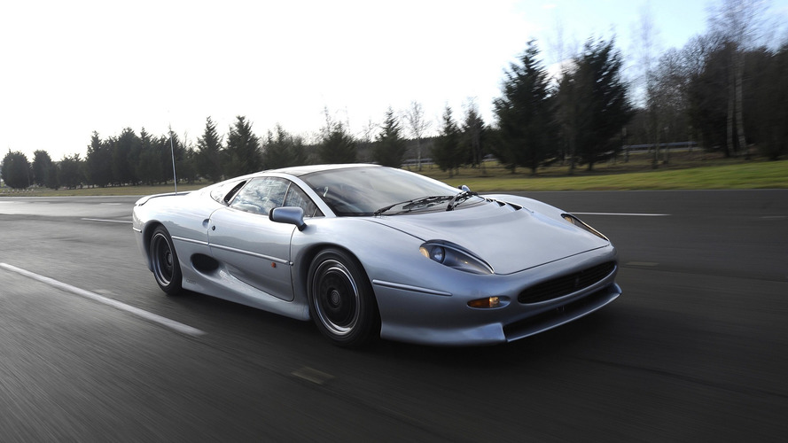 Bridgestone's New Tires Let Jaguar XJ220 Come Out Of Retirement