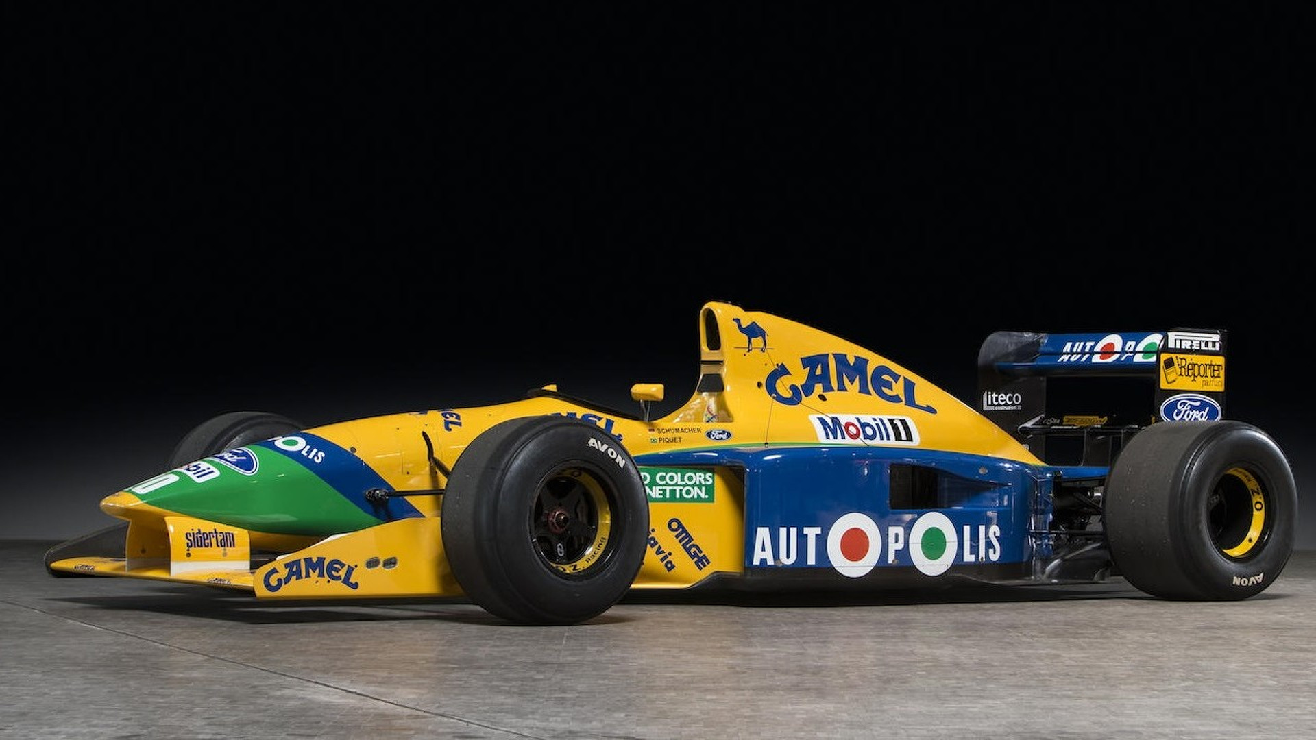 Image result for benetton F1