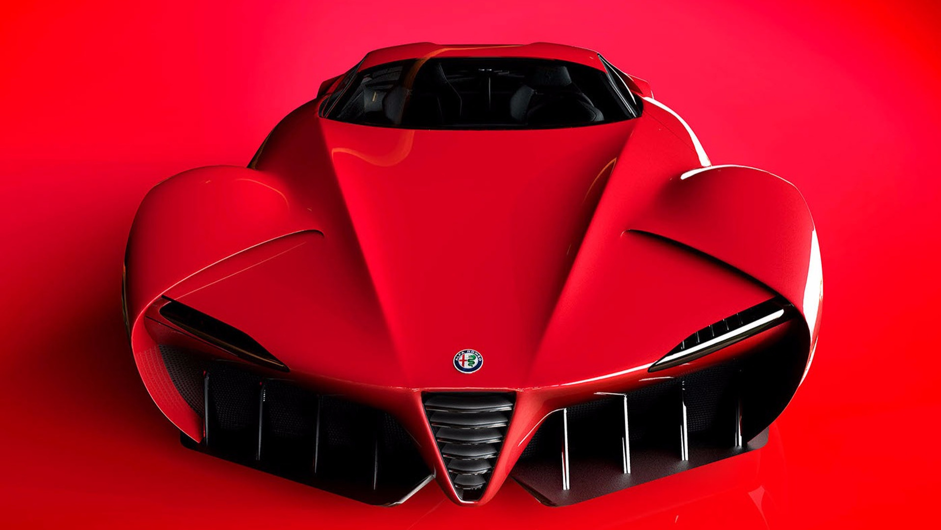 Alfa Romeo Disco Volante >> Alfa Romeo 6c Konsepti Modern Bir Disco Volante Ye Benziyor