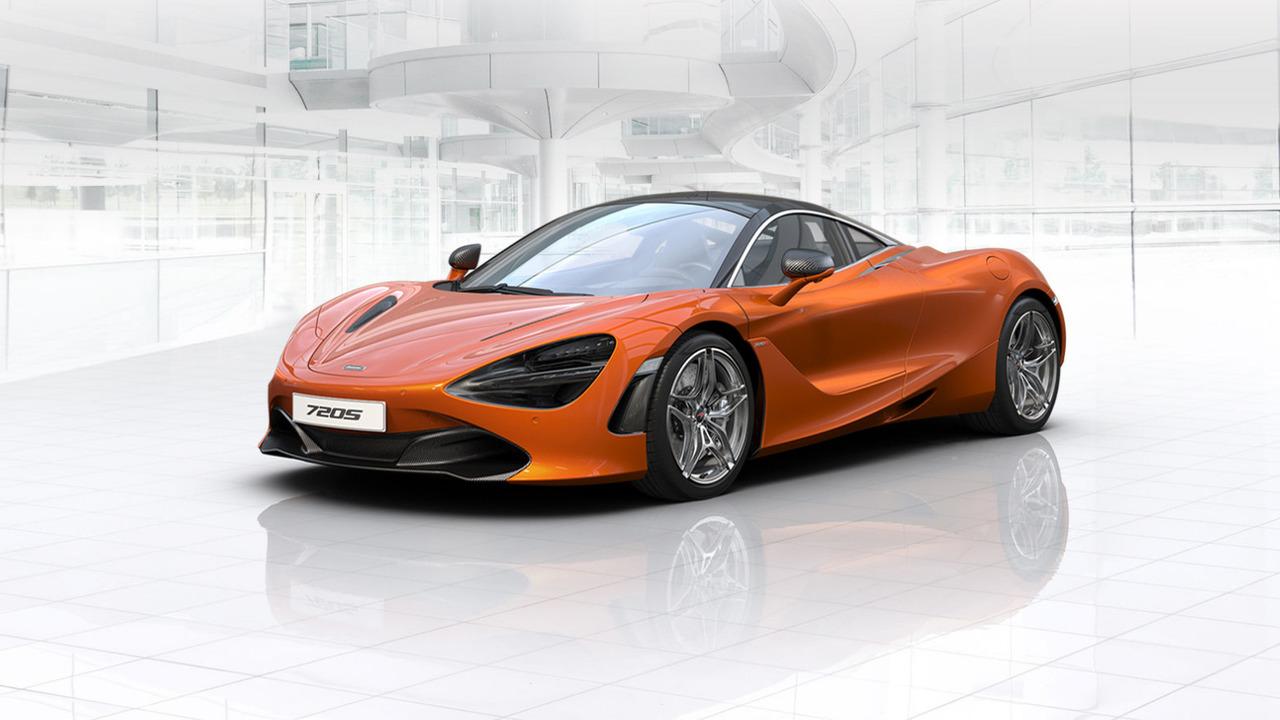McLaren 720S online configurator