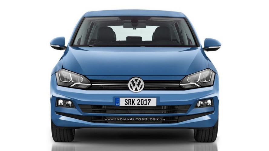 Novo VW Polo brasileiro ganha projeção baseada em flagra revelador