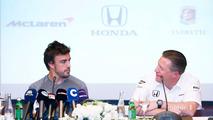 Fernando Alonso and Zak Brown