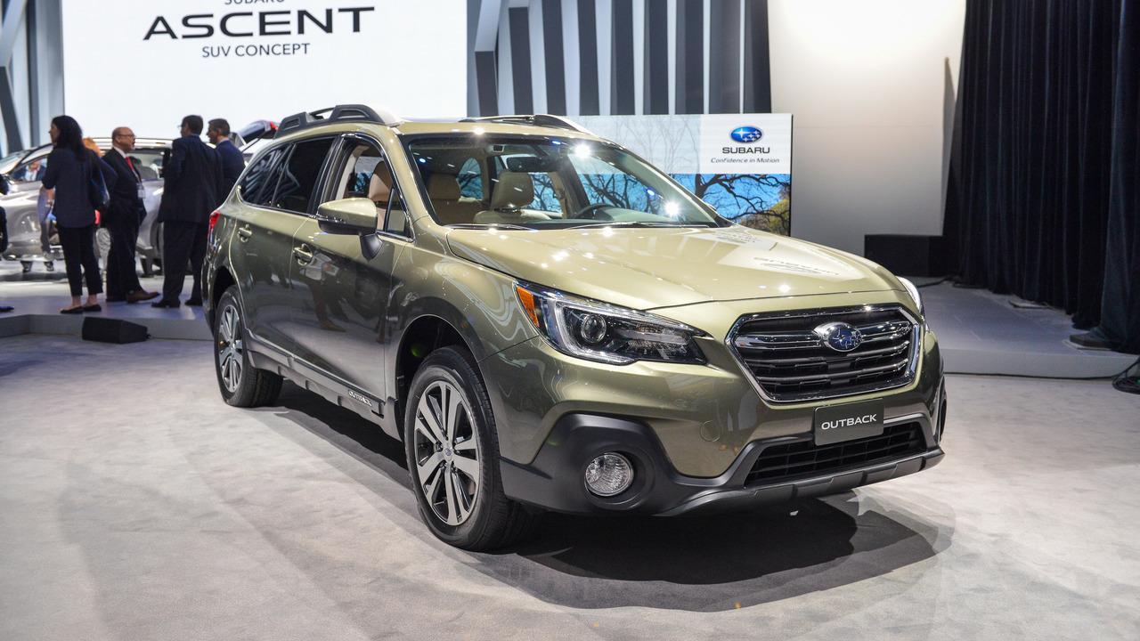 2018 Subaru Outback Motor1 Com Photos