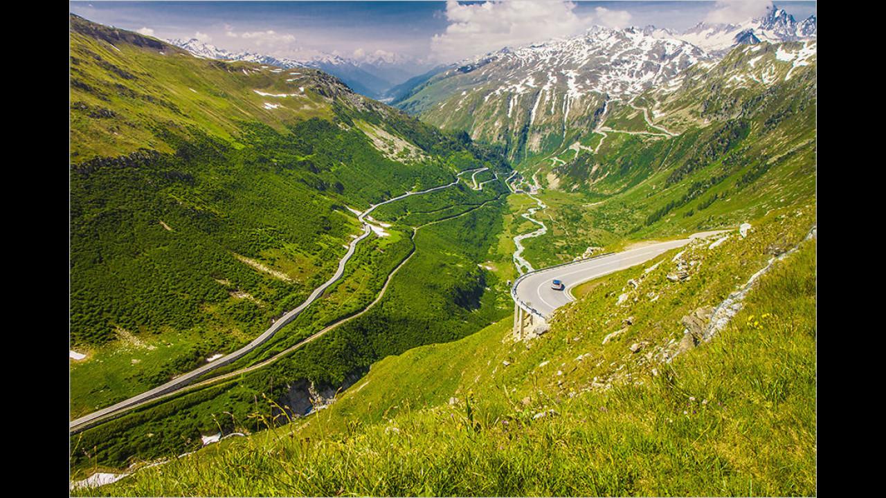 Furka-Pass, Schweiz