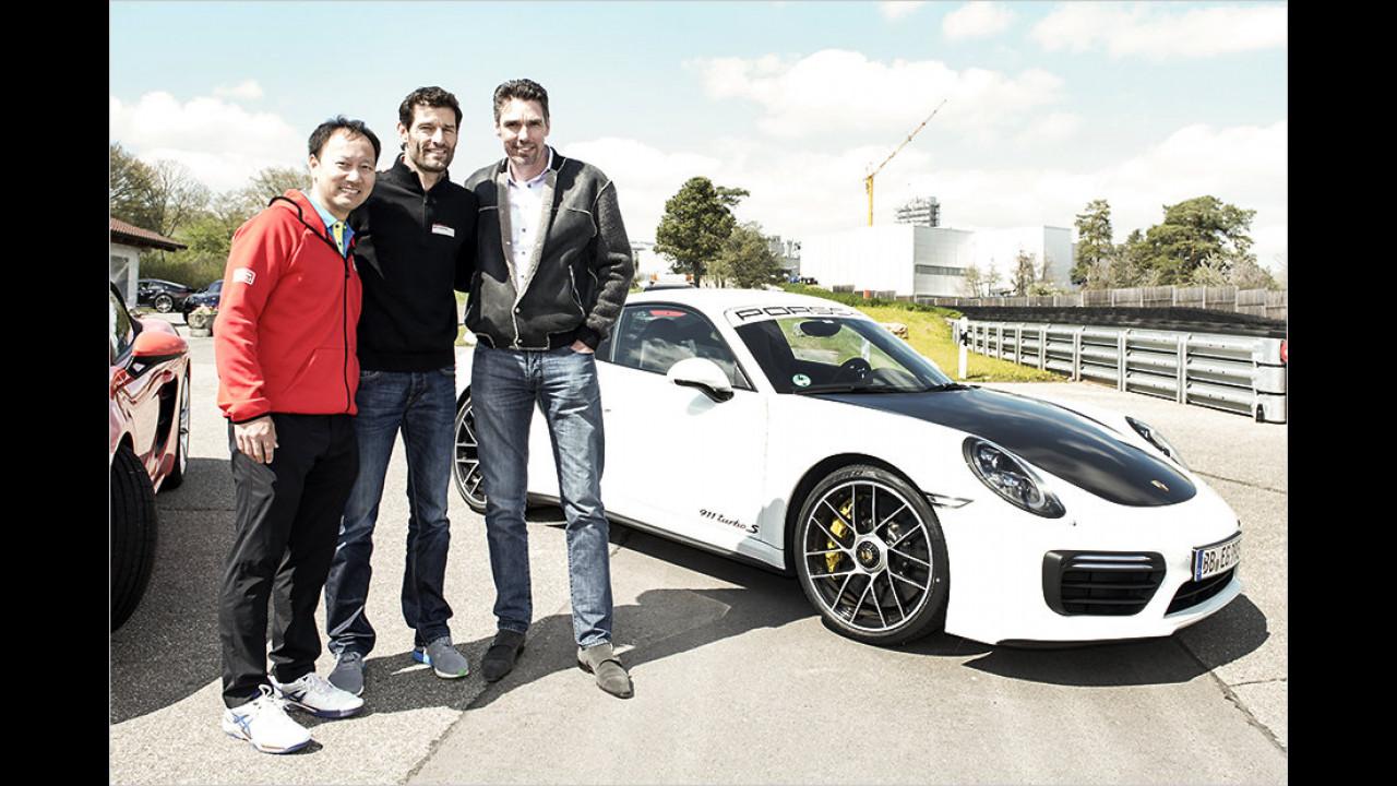 Michael Stich: Porsche 718 Boxster S