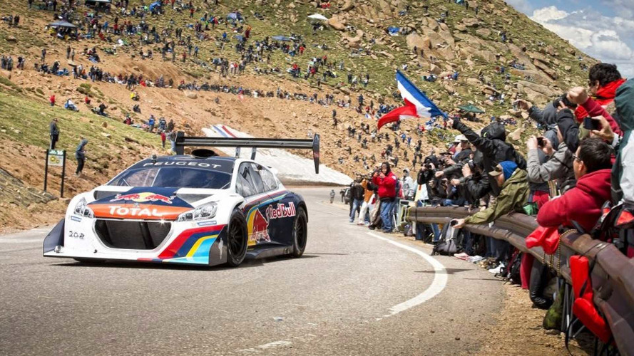 A Peugeot szerint belsőégésű motorral is megdönthető a VW Pikes Peak-i rekordja