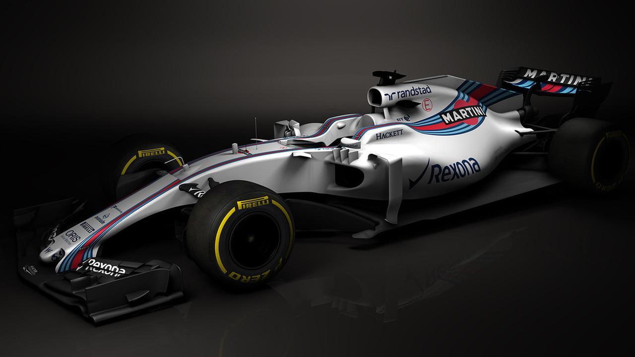 2017 Williams F1 car