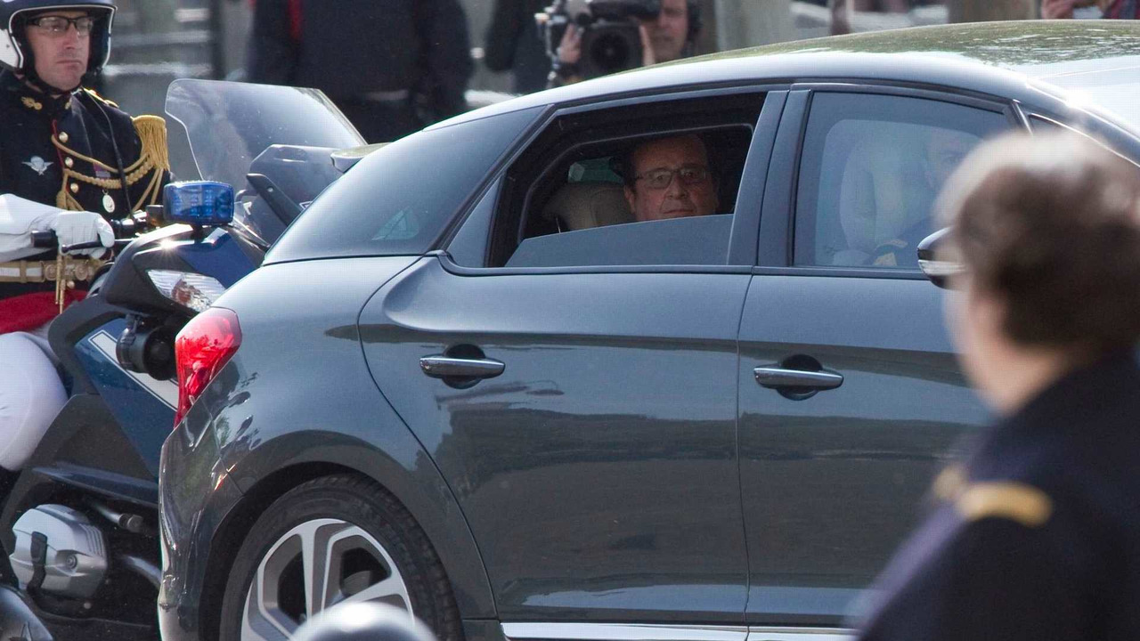 Citroën DS5 présidentielle François Hollande