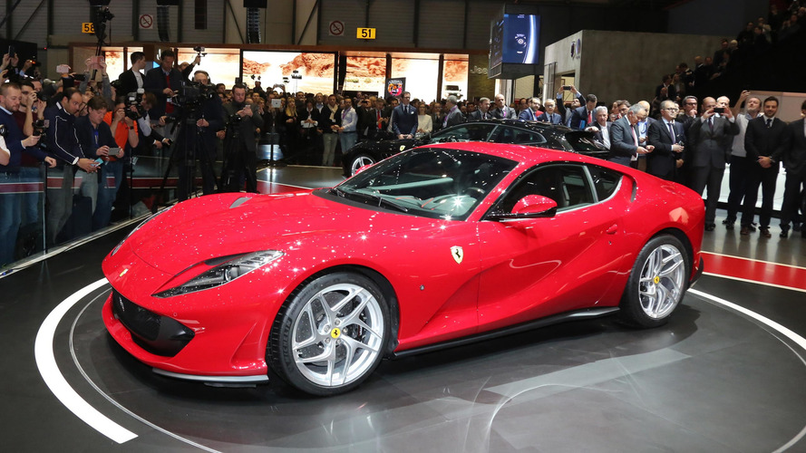 Check out the 789hp Ferrari 812 Superfast's unveiling in Geneva
