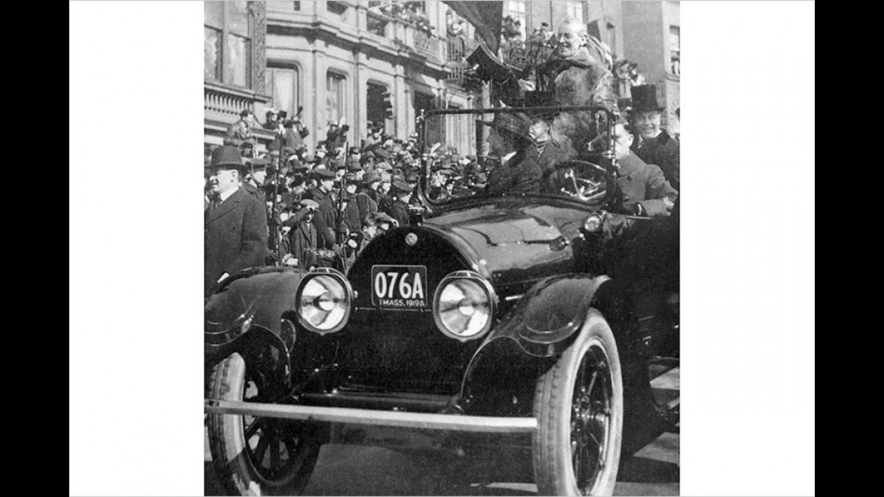 Woodrow Wilson: Cadillac Type 57 (1919)