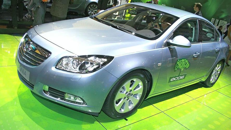 Opel Insignia ecoFLEX Debuts in Paris