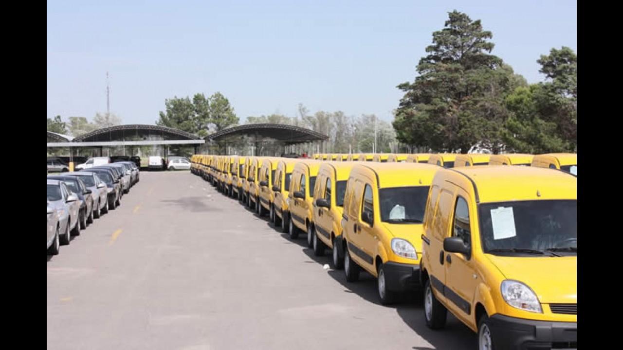 Kangoo Express: Renault entregará mais de 1.000 unidades para frota dos Correios