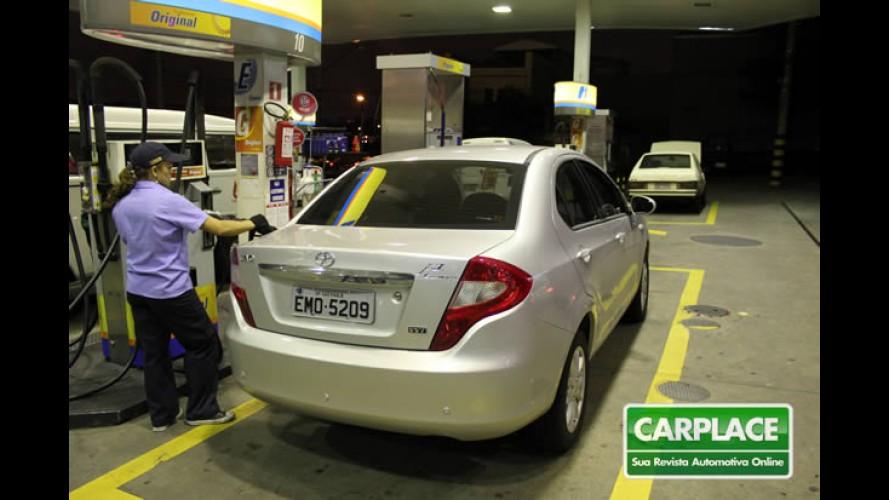 Garagem CARPLACE: Hora de medir o consumo de combustível do JAC J3 Turin