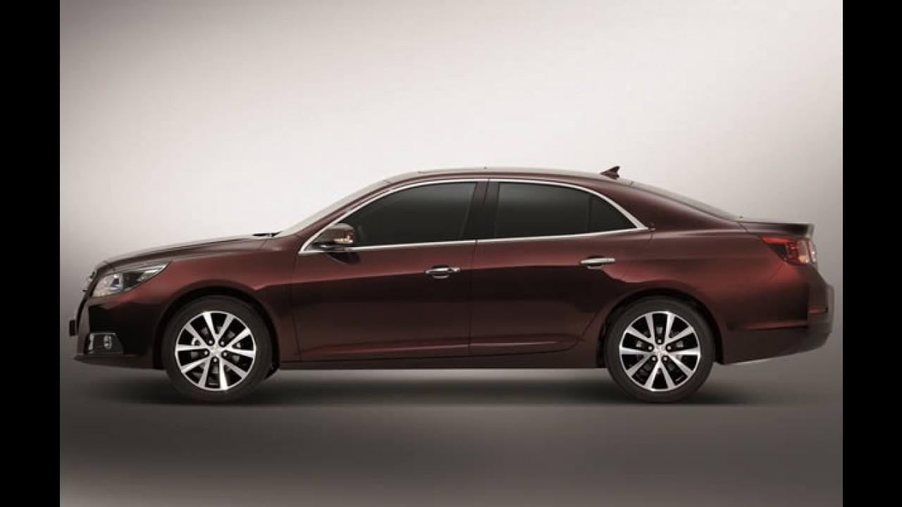 Novo Chevrolet Malibu 2012: Primeira unidade sai da linha de produção na Coréia