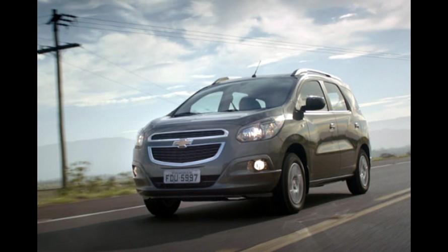 Vídeo: Chevrolet inicia campanha da minivan Spin