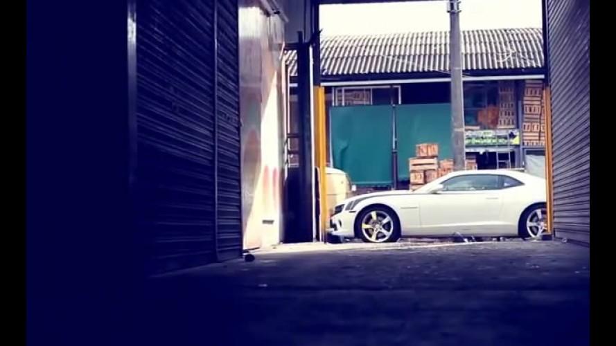 """Bufalos TV: Chevrolet Camaro SS em """"Banca de 400 cv"""""""