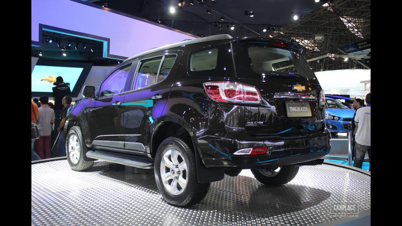 Salão do Automóvel: Chevrolet TrailBlazer - Veja a galeria de fotos em alta resolução