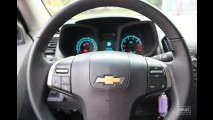 Garagem CARPLACE: Detalhes do acabamento interno da Nova Chevrolet S10 2.4 LTZ 2012