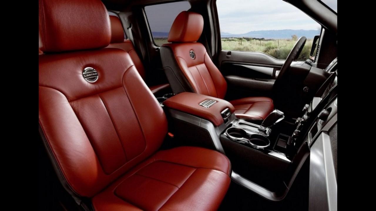 Ford F-150 Limited 2013 chega aos Estados Unidos como top de linha