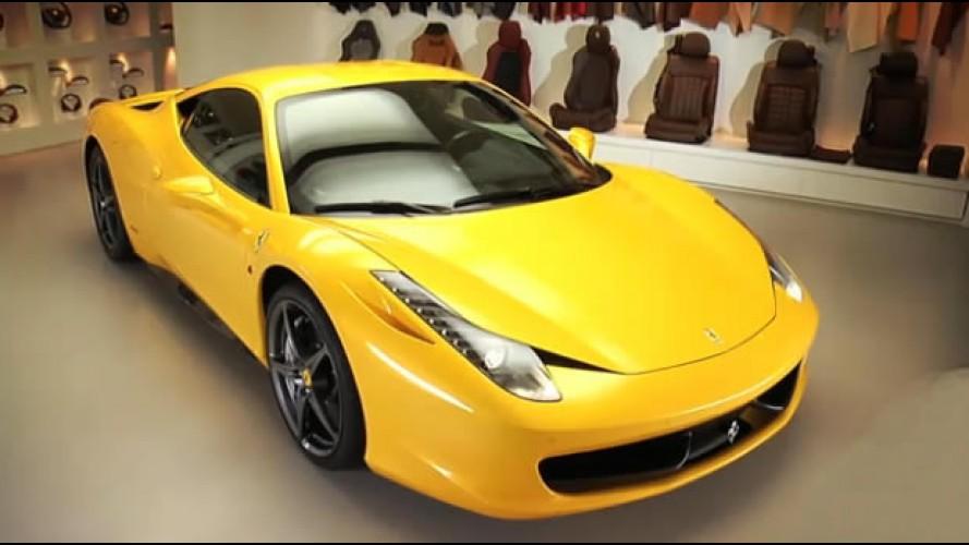 Vídeo mostra programa de personalização da Ferrari 458 Italia