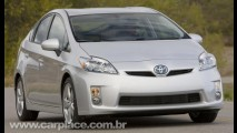 Alta do iene tira Prius hatch da Europa