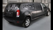 Estudantes transformam Dacia Duster em limousine