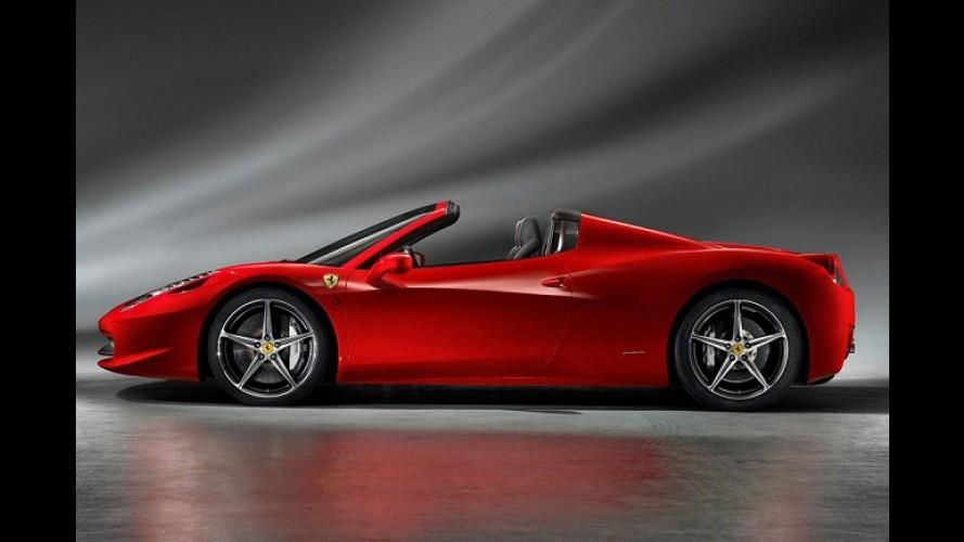 Ferrari 458 Spider: Preço inicial de US$ 257.000 nos Estados Unidos