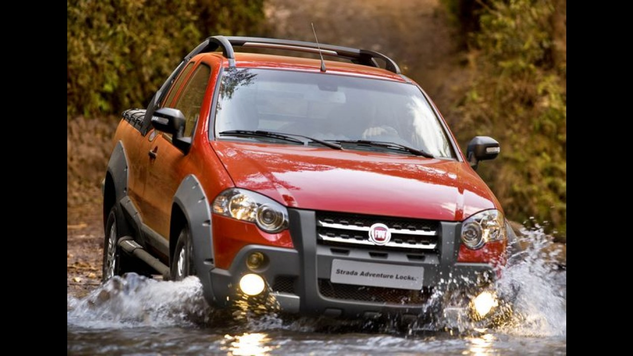 Fiat Strada com motor multijet é lançada na Itália