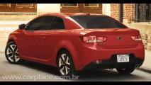 Kia Forte Koup 2010 - Versão coupé do New Cerato é apresentada em Nova York