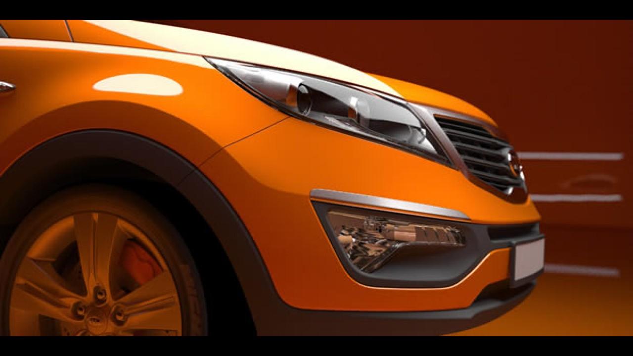 Kia Sportage 2011 - Divulgadas fotos oficiais da nova geração do utilitário