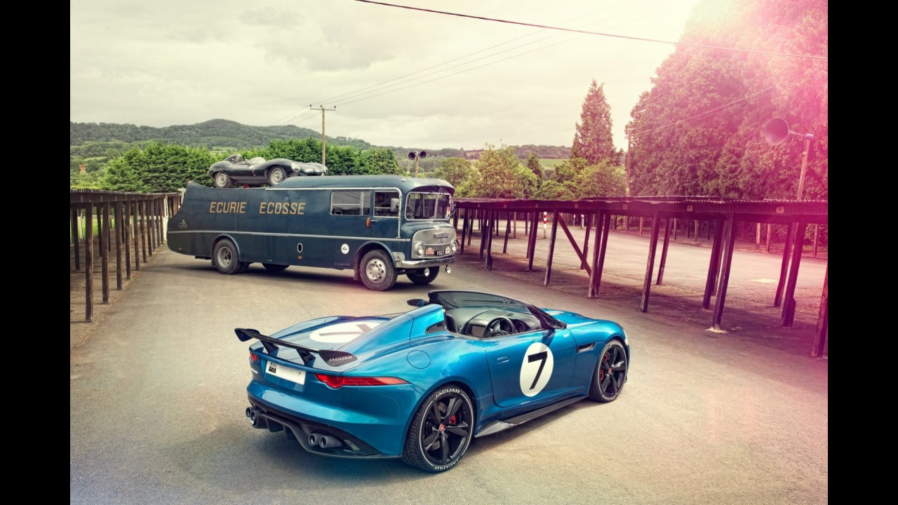 Jaguar revela o Project 7 inspirado no D-Type