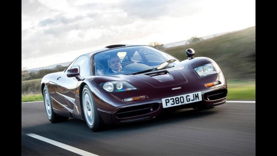 """""""Mr. Bean"""" coloca sua McLaren F1 à venda após 17 anos"""