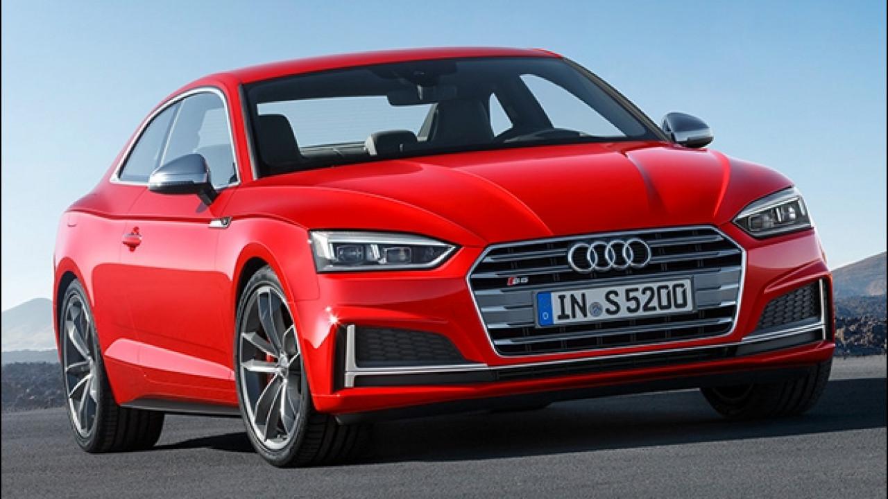 [Copertina] - Nuova Audi S5 Coupé, la sportiva mette il turbo