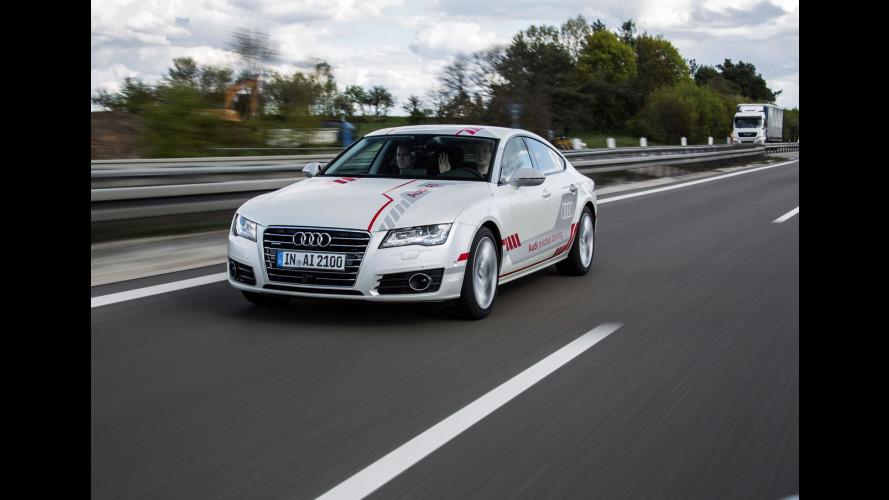 """Audi A7 Jack, in autostrada con la """"Guida Pilotata"""" [VIDEO]"""