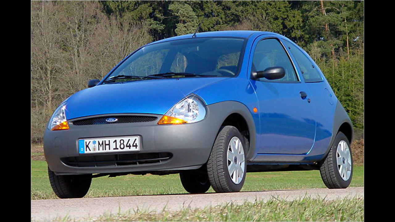 Die schlechtesten Autos bis 11 Jahre: Ford Ka