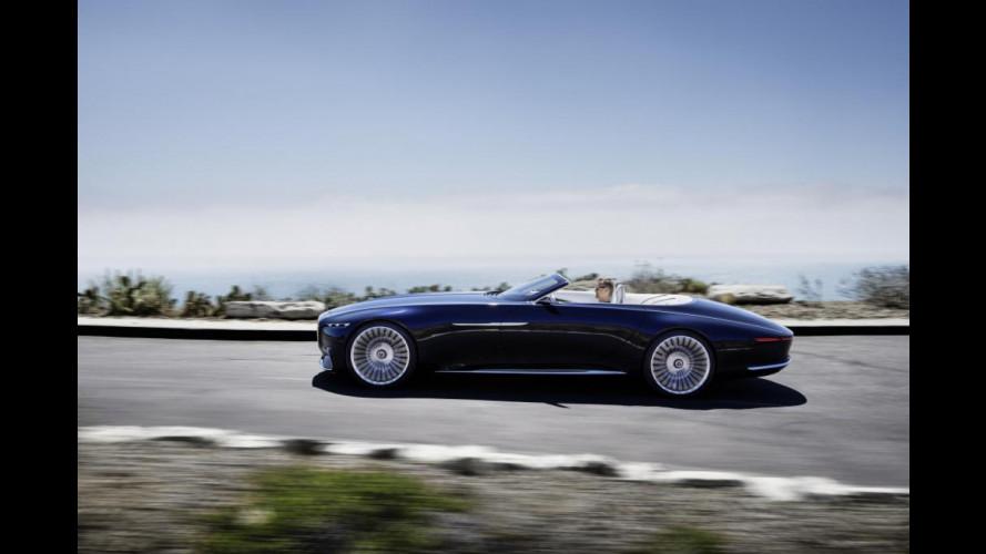 Mercedes-Maybach Vision 6 Cabriolet, il lusso elettrico di domani