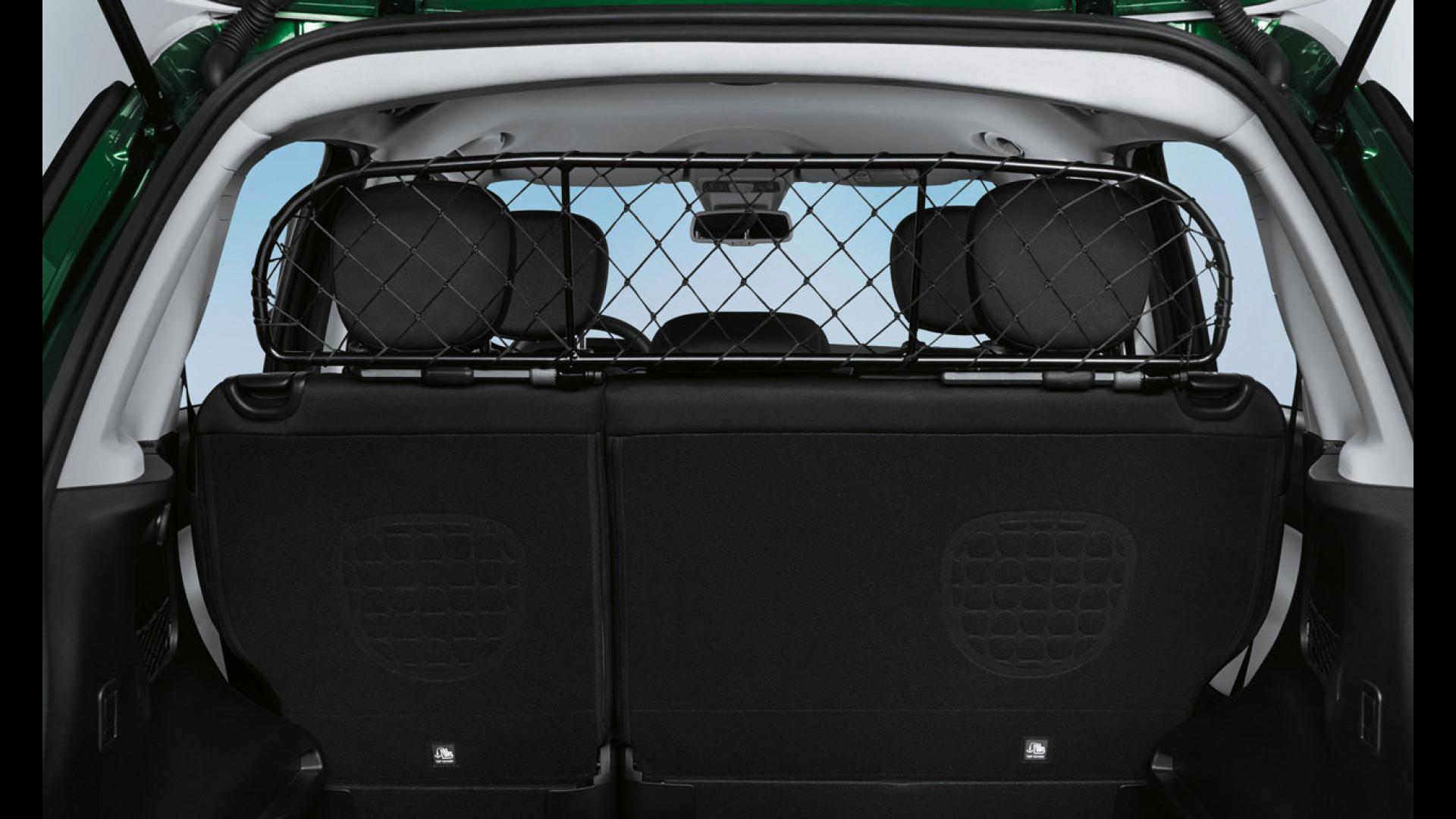 Fiat 500l Si Arricchisce Di Accessori Per Cani