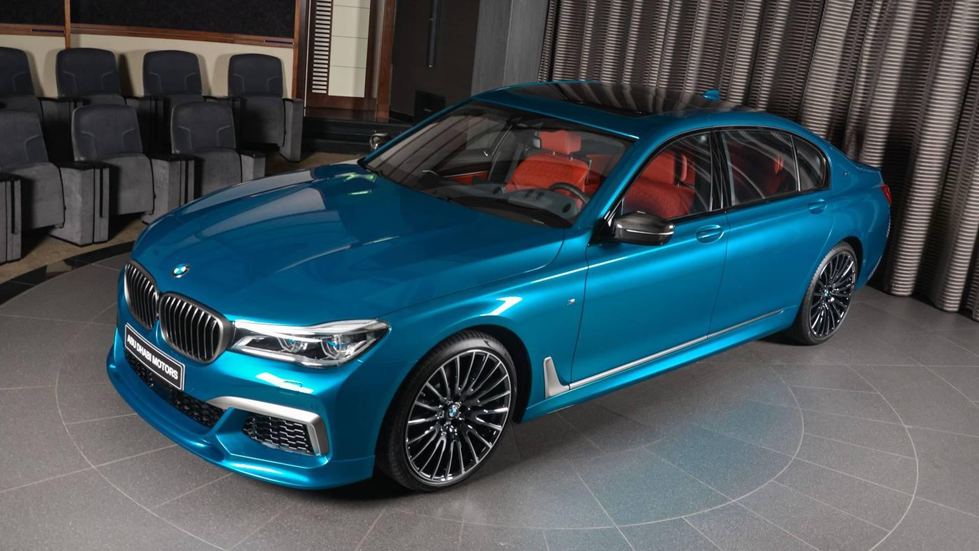 Bmw Long Beach >> M760li Individual Long Beach Blue Is Bmw Abu Dhabi S Latest Toy
