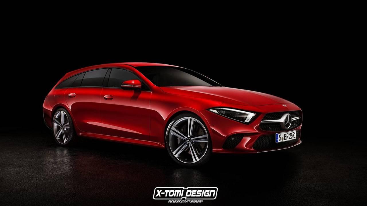 Mercedes-Benz CLS-Klasse ShootingBrake rendering