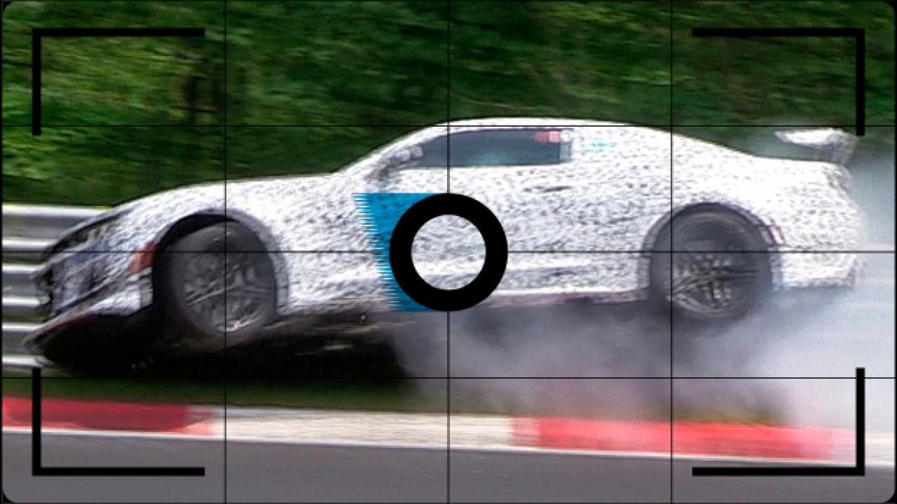 [Copertina] - Chevrolet Camaro Z28, incidente al Nurburgring [FOTO SPIA]