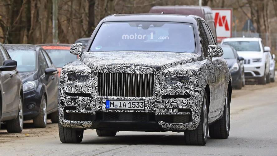 """Le SUV de Rolls-Royce ne prendra pas le nom """"Cullinan"""""""