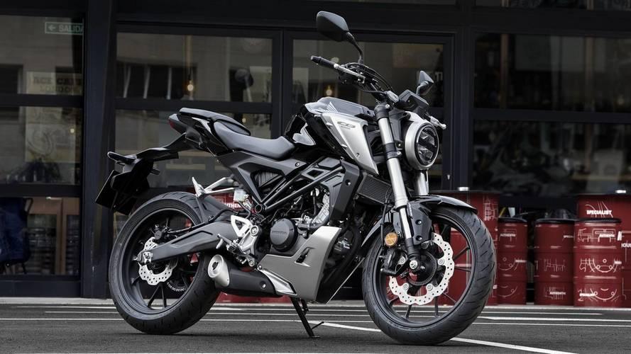 Honda CB125R 2018, la pequeña de la gama 'Neo Sports cafe'