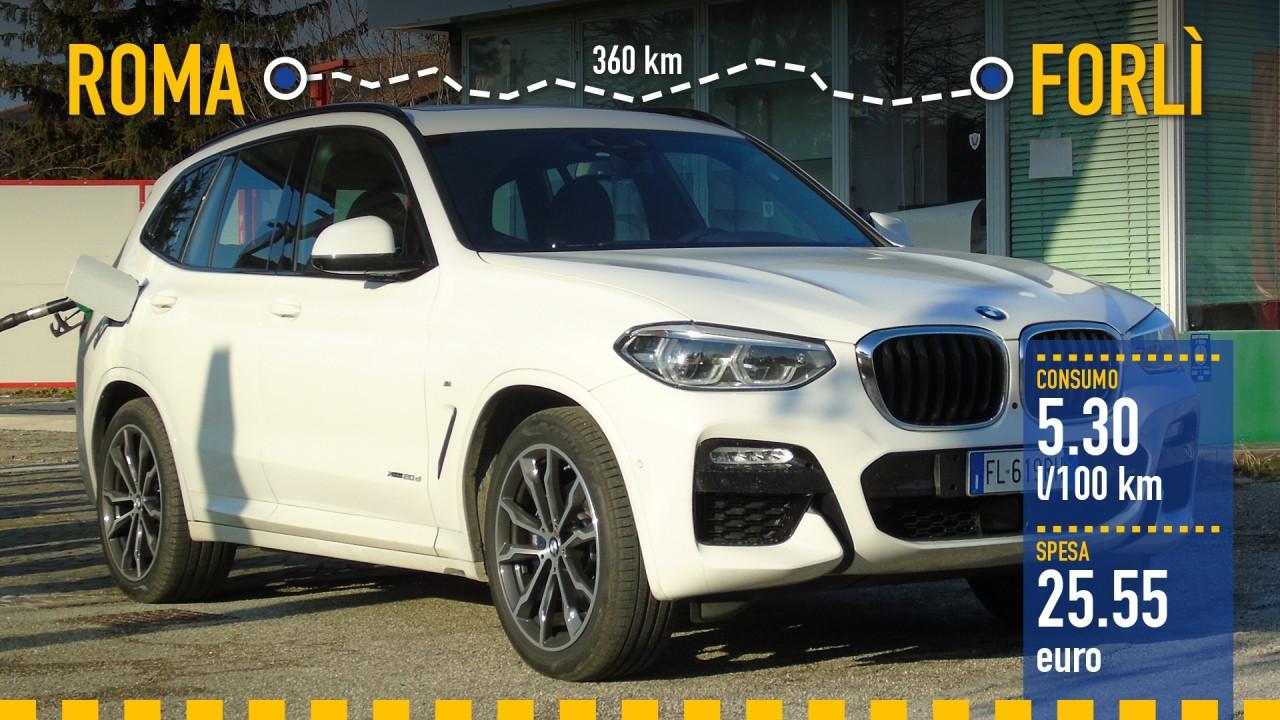 [Copertina] - BMW X3, la prova dei consumi reali