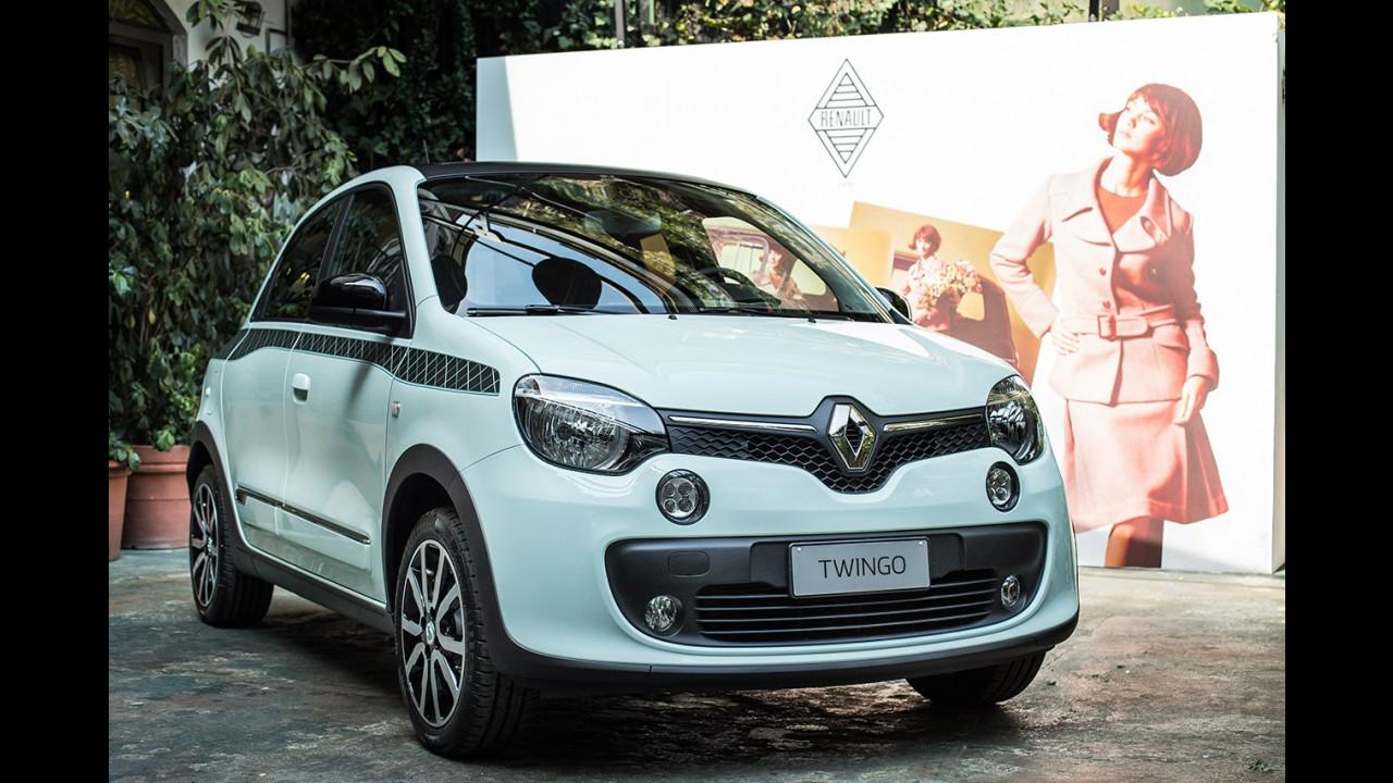 Renault Twingo La Parisienne e Renault R4 La Parisienne