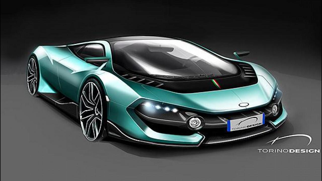 [Copertina] - Torino Design, la supercar in incognito debutta a Parco Valentino