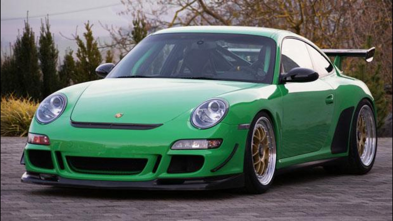 [Copertina] - Porsche 911 GT3 RS, stile scozzese per Kaege